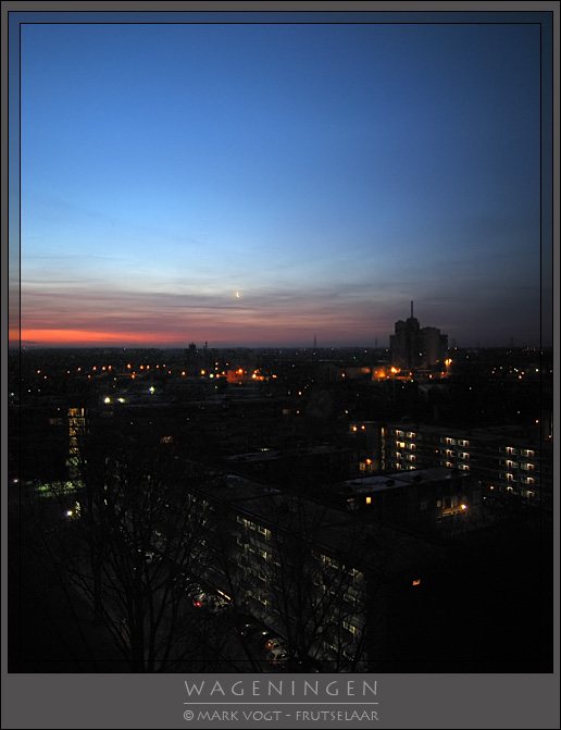 Sunrise in Wageningen